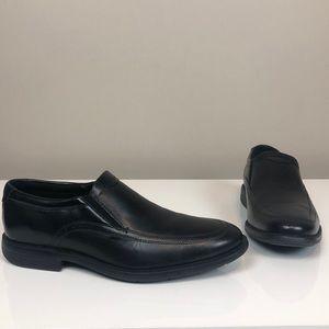 Nunn Bush Comfort Gel Memory Foam Black Loafers